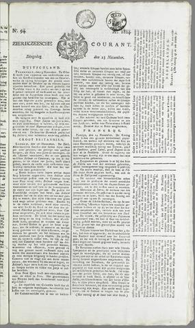 Zierikzeesche Courant 1824-11-23
