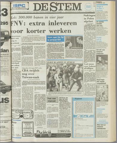 de Stem 1981-02-02