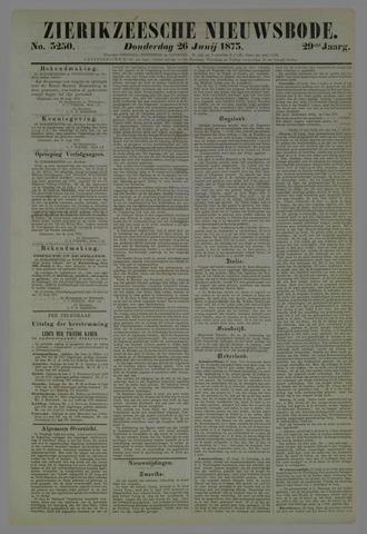 Zierikzeesche Nieuwsbode 1873-06-26