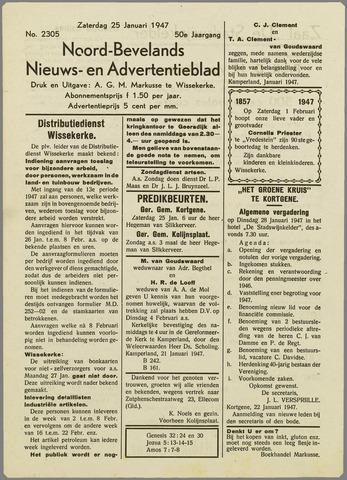 Noord-Bevelands Nieuws- en advertentieblad 1947-01-25