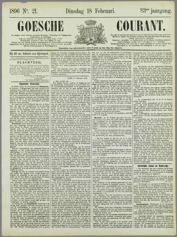 Goessche Courant 1896-02-18
