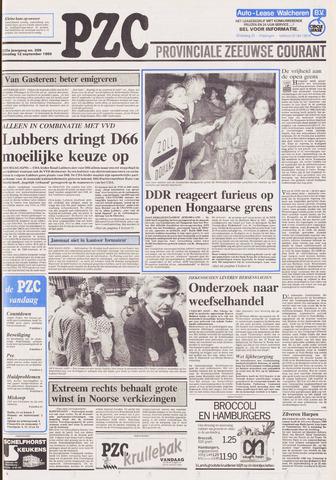 Provinciale Zeeuwse Courant 1989-09-12