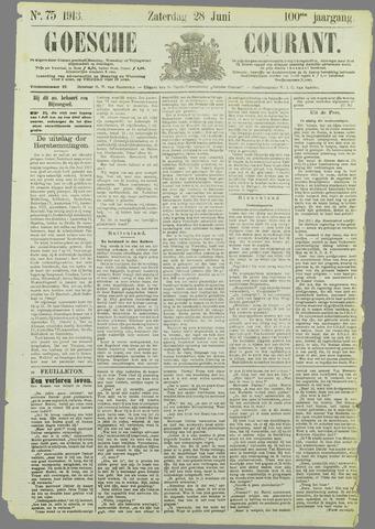 Goessche Courant 1913-06-28