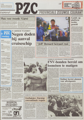 Provinciale Zeeuwse Courant 1988-07-12