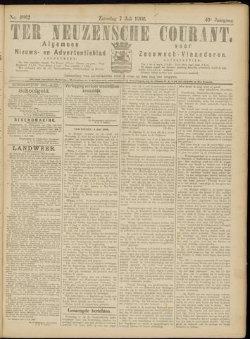 Ter Neuzensche Courant. Algemeen Nieuws- en Advertentieblad voor Zeeuwsch-Vlaanderen / Neuzensche Courant ... (idem) / (Algemeen) nieuws en advertentieblad voor Zeeuwsch-Vlaanderen 1906-07-07