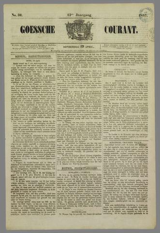 Goessche Courant 1855-04-19