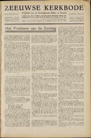 Zeeuwsche kerkbode, weekblad gewijd aan de belangen der gereformeerde kerken/ Zeeuwsch kerkblad 1950-09-08