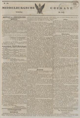 Middelburgsche Courant 1843-07-29