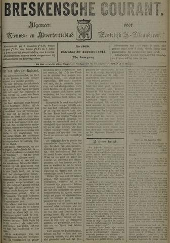 Breskensche Courant 1913-08-30