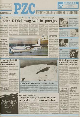 Provinciale Zeeuwse Courant 1992-02-19
