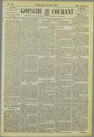 Goessche Courant 1919-07-17