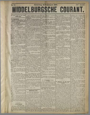 Middelburgsche Courant 1921-02-12