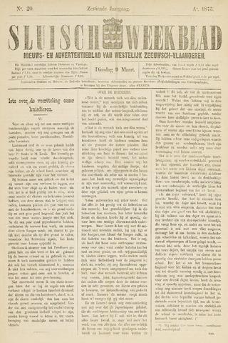 Sluisch Weekblad. Nieuws- en advertentieblad voor Westelijk Zeeuwsch-Vlaanderen 1875-03-09