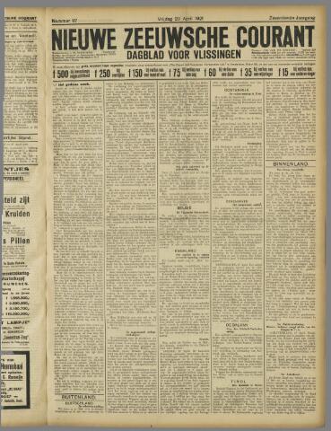 Nieuwe Zeeuwsche Courant 1921-04-29