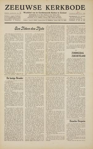 Zeeuwsche kerkbode, weekblad gewijd aan de belangen der gereformeerde kerken/ Zeeuwsch kerkblad 1955-06-24