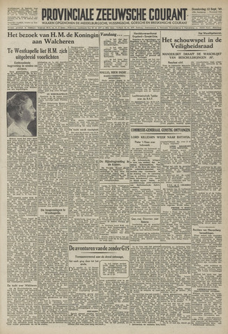 Provinciale Zeeuwse Courant 1946-09-12