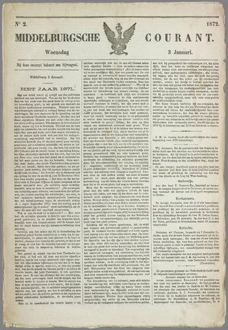 Middelburgsche Courant 1872-01-03