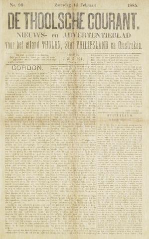 Ierseksche en Thoolsche Courant 1885-02-14