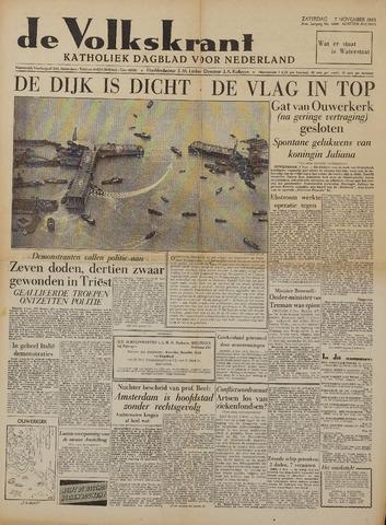 Watersnood documentatie 1953 - kranten 1953-11-07