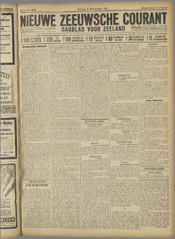 Nieuwe Zeeuwsche Courant 1921-11-11