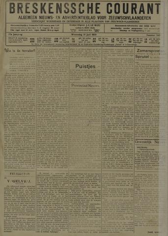 Breskensche Courant 1929-06-19