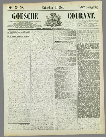 Goessche Courant 1891-05-16