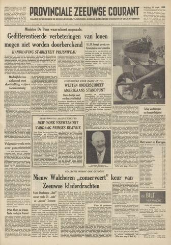 Provinciale Zeeuwse Courant 1959-09-11