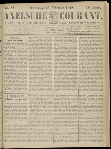 Axelsche Courant 1918-02-13