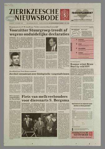 Zierikzeesche Nieuwsbode 1996-11-11