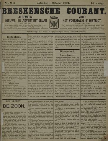 Breskensche Courant 1904-10-01