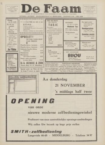 de Faam en de Faam/de Vlissinger 1963-11-15