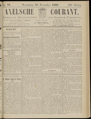 Axelsche Courant 1908-12-30
