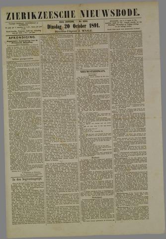 Zierikzeesche Nieuwsbode 1891-10-20