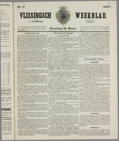 Vlissings Weekblad 1863-03-28