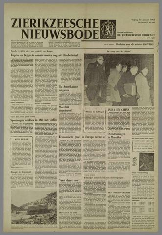 Zierikzeesche Nieuwsbode 1963-01-11