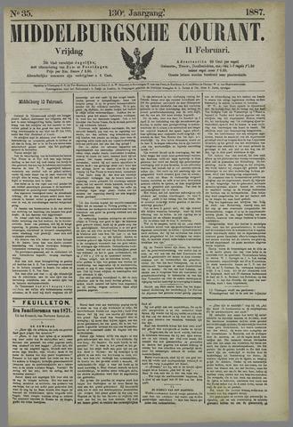 Middelburgsche Courant 1887-02-11