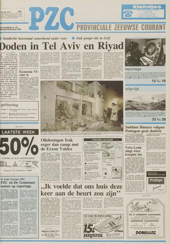 Provinciale Zeeuwse Courant 1991-01-26