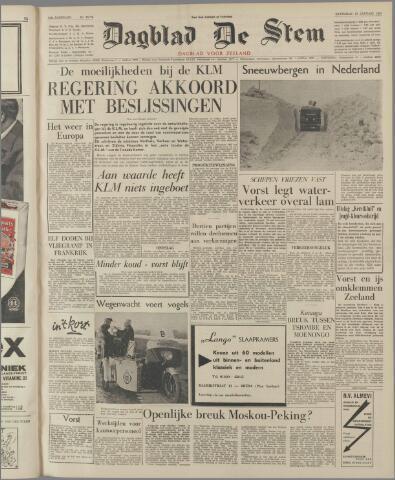 de Stem 1963-01-12