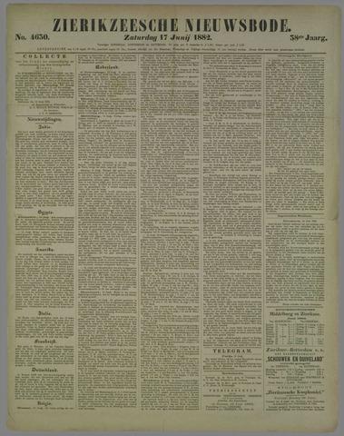Zierikzeesche Nieuwsbode 1882-06-17