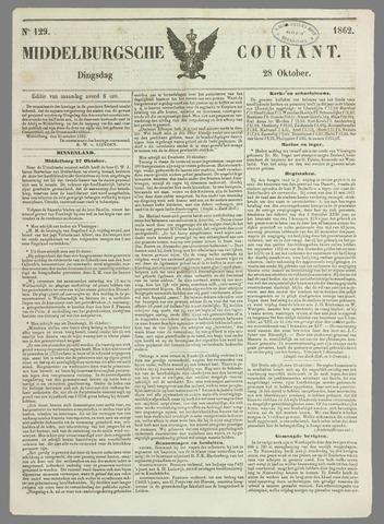 Middelburgsche Courant 1862-10-28