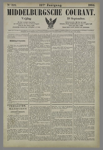 Middelburgsche Courant 1884-09-19