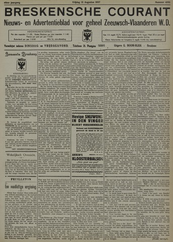 Breskensche Courant 1937-08-13