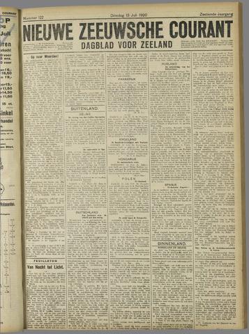 Nieuwe Zeeuwsche Courant 1920-07-13