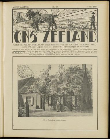Ons Zeeland / Zeeuwsche editie 1929-05-18