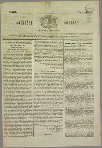 Goessche Courant 1850-12-30