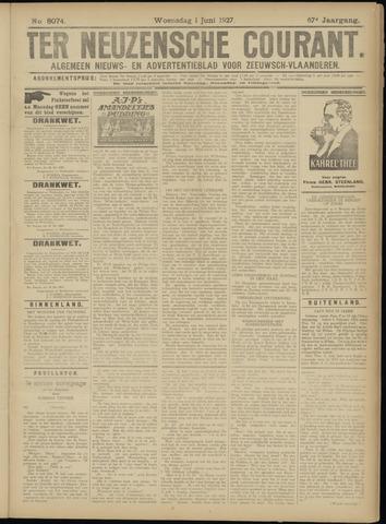 Ter Neuzensche Courant. Algemeen Nieuws- en Advertentieblad voor Zeeuwsch-Vlaanderen / Neuzensche Courant ... (idem) / (Algemeen) nieuws en advertentieblad voor Zeeuwsch-Vlaanderen 1927-06-01