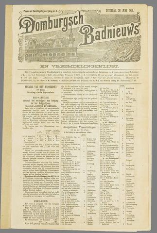 Domburgsch Badnieuws 1909