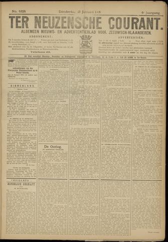 Ter Neuzensche Courant. Algemeen Nieuws- en Advertentieblad voor Zeeuwsch-Vlaanderen / Neuzensche Courant ... (idem) / (Algemeen) nieuws en advertentieblad voor Zeeuwsch-Vlaanderen 1916-01-13