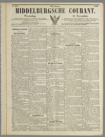 Middelburgsche Courant 1905-11-15