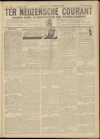 Ter Neuzensche Courant. Algemeen Nieuws- en Advertentieblad voor Zeeuwsch-Vlaanderen / Neuzensche Courant ... (idem) / (Algemeen) nieuws en advertentieblad voor Zeeuwsch-Vlaanderen 1936-02-14